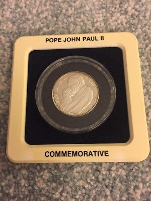 1988 Pope John Paul II Commemorative Silver Proof 10000 Zlotych Poland Coin