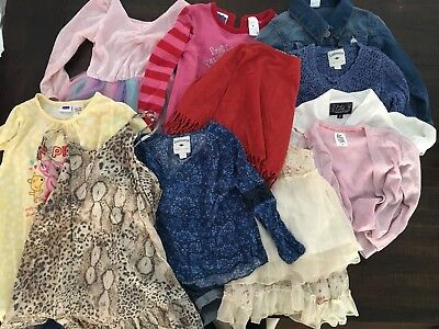 13 X GIRLS CLOTHES LOT SIZE 4 lightly used
