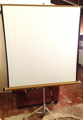 VINSON Vintage Projection Screen - Made In England