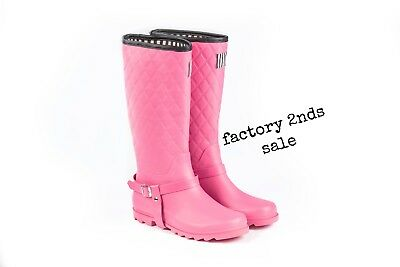 she wear womens fashion rubber gum boots wellies 2nds sale clearance