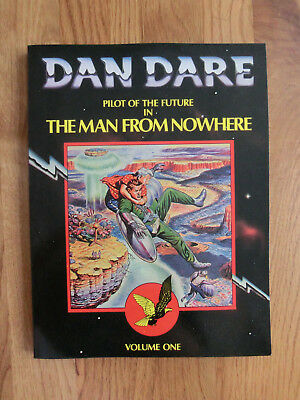 "Dan Dare ""The Man From Nowhere""  Vol 1 TPB Dragons Dream Book 1979"