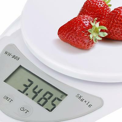 US Seller Digital Kitchen Scale Diet Food Compact Postal Scale 0.01-176 oz