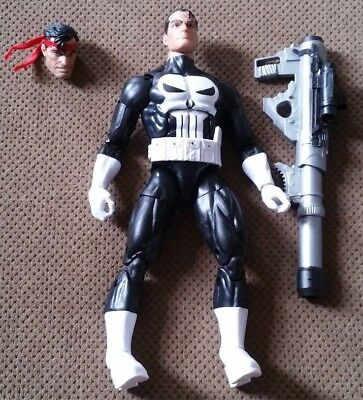 Marvel Legends Vintage Retro Punisher 6 Inch Action Figure LOOSE