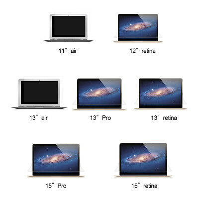 Ultra Clear Screen Protector Cover Film For MacBook Air Retina Pro 11/12/13/15''