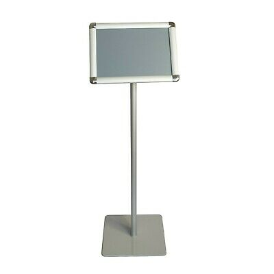 Offex A4 Size Pedestal Floor Standing Poster Display Stand