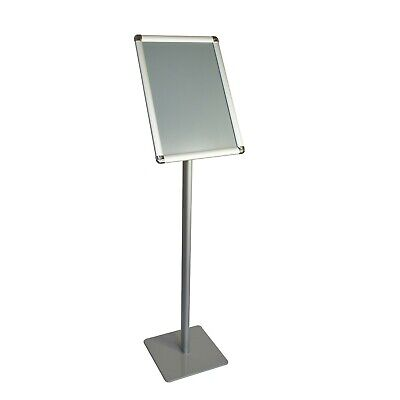 Offex A3 Size Pedestal Floor Standing Poster Display Stand