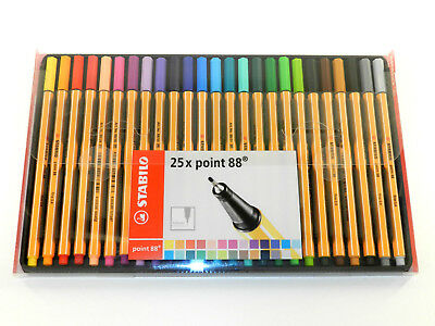 Stabilo point 88 - Fineliner - 25er Pack Neu