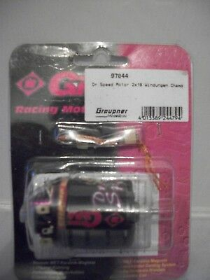 GM Racing 97044 Dr.Speed modified motor 18x2  (ballraced/openable)  NIP