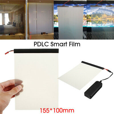 Smart Film Starter Electrochromic PDLC Switchable Eglass Glass 15.5x10cm