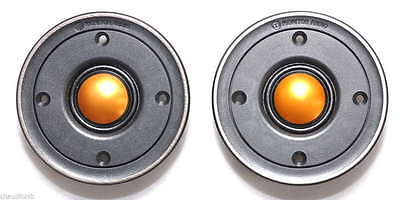 For New Pair (2 units) Monitor Audio TBX025 V2 25mm Gold Dome Tweeters