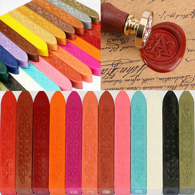 5pc Traditional Wax Sealing Stick for Letters Stamp Seal Melting Candle Envelope