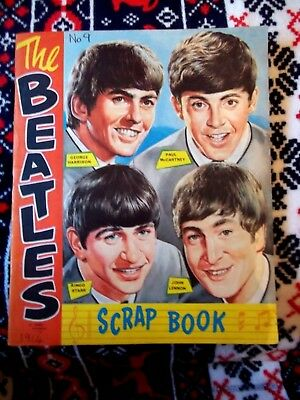 BEATLES SCRAP BOOK  1964 with lots of artist of the times
