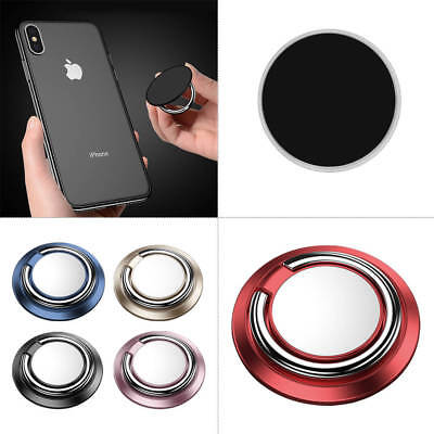 NEW! Magnetic Bracket 360° Rotate Finger Ring Phone Stand Car Mount Holder US