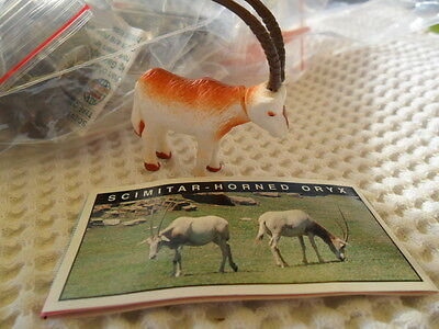 Yowies Series 5, * SCIMATAR HORNED ORYX * + PAPERS