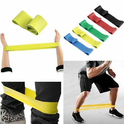 Exercise Rubber Sport Bands Training Fitness Resistance Yoga Loop Strength Band