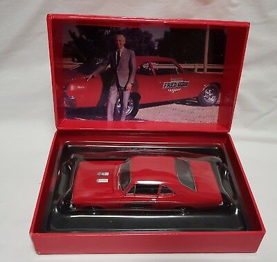 1968 Fred Gibb Chevrolet Copo Nova SS 396 GMP 1:43 Scale Super Chevy - Brand New