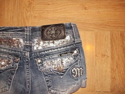 Girl's Miss Me Size 12 Cut Off Shorts ~ Cute