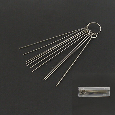10 Pcs Cleaning Needle Kit For Airbrush Paint Spray Guns Nozzle Tattoo Equipment
