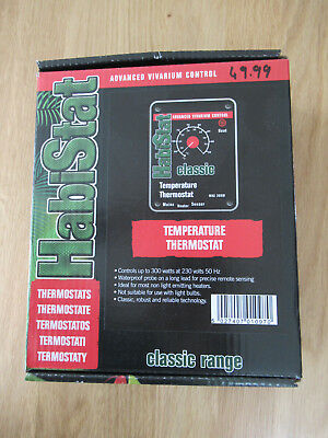 habistat temperature thermostat instructions