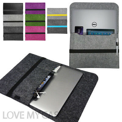Laptop Felt Sleeve Case Cover Bag for Dell Notebooks XPS & Inspiron