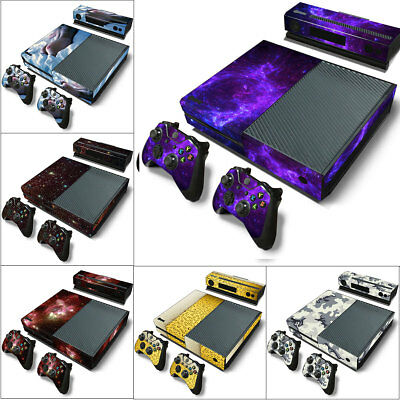 For Xbox One Vinyl Decal Skin Stickers Protector Cover S Console & 2 Controllers