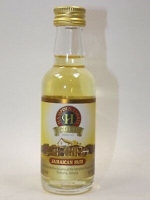 Rum HAMPDEN ESTATE GOLD 5 cl 40% mini flasche bottle miniature bottela