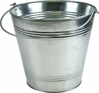 TRADITIONAL GALVANISED STRONG STEEL METAL 9L, 12L, 15L And 18L BUCKET