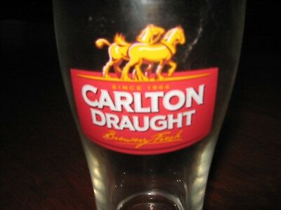 Carlton Draught 425Ml Beer Glass