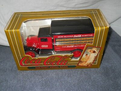 Coca-Cola Coke Die-cast Metal 1931 Hawkeye Truck bank By ERTL in 1993  NRFB