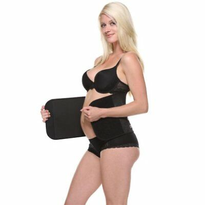 The Original Belly Bandit Post Pregnancy Belly Wrap (Black, X-Small)