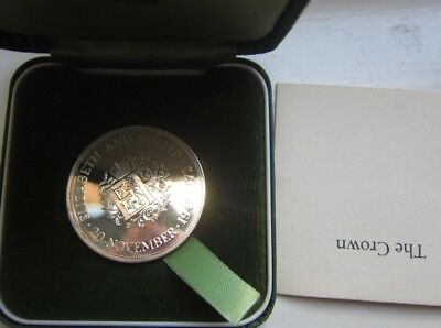 Gb Silver Proof  Crown 1972