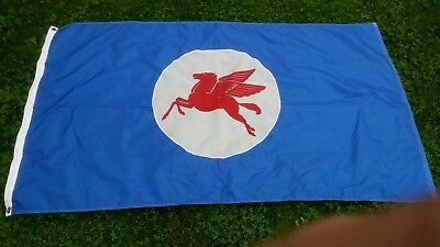 Mobil Gas Pegasus Flag 3x5 Banner Oil Racing Garage Man Cave with grommets