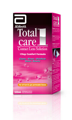 New Abbott Total Care 1 Hard Contact Lens Solution 100mL