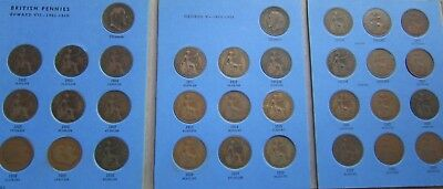 Gb Penny Collection 1902-1939