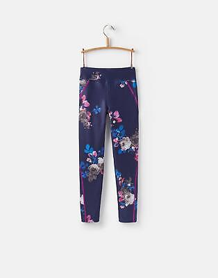 Joules Swift Active Leggings in Navy Floral