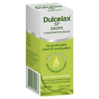 Dulcolax SP Drops 30mL for Constipation Relief Oral Liquid Solution