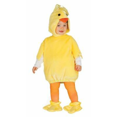 Cute Baby & Toddler Chick Easter Spring Chicken Boys Girls Fancy Dress Costume