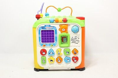 Vtech Ultimate Alphabet Activity Cube Preowned 3413 Picclick