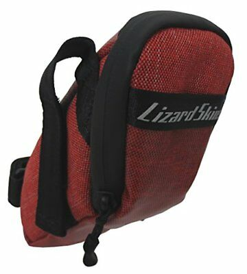 Lizard Skins Micro Cache Saddle Bag Crimson Medium Bike
