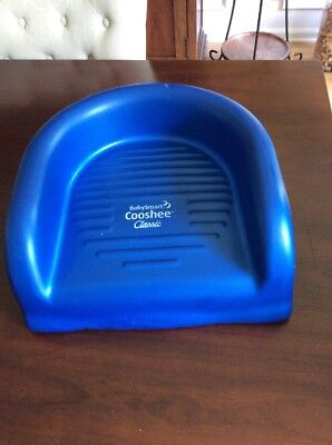 Baby Smart Toddler Cooshee Booster Seat Blue Soft Foam CooshieChair