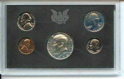 1970 United States PROOF Coin Set - U.S. Mint Original - Authentic
