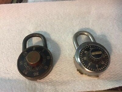 1920's Dudley Combination Lock, & master combo USA made