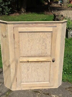 Victorian Pine cupboard. front only