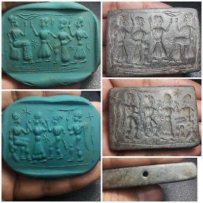 amyzing   medieval double side calindeseal tablet relief