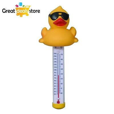 Derby Duck Floating Pool and Spa Thermometer Accurate Water Temperature