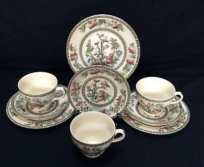 """Johnson Bros """"Indian Tree"""" Trio Side Plate Cup&saucer"""
