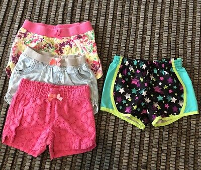 The CUTEST Summer Girl's Shorts 5T LOT