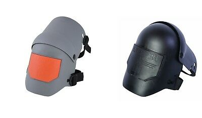 Sellstrom Knee-Pro Ultra Flex III Knee Pad, Grey & Orange/Black, Universal Size