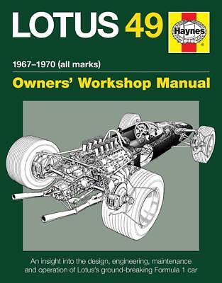 Lotus 49 (Chapman Rindt Clark Hill Cosworth) Buch book manual F Formel Formula 1