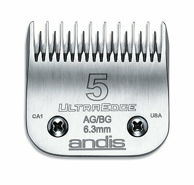 NEW! Andis UltraEdge Hair Clipper Blade Size 5 Skip Tooth 64079